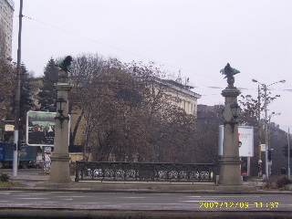 Eagles Bridge in Sofia