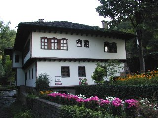 House in Etara, Bulgaria. Picture taken from http://www.pbase.com/ngruev/etara