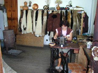 Leather craft in Etara, Bulgaria. Picture taken from http://www.pbase.com/ngruev/etara