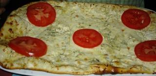 Quattro Fromaggio Pizza in Olive's, Sofia restaurant
