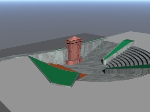 Renovation plan of Aishe Molla Fountain in Kardzhali