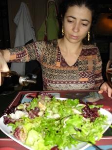 Rumi in Olive's, Sofia restaurant