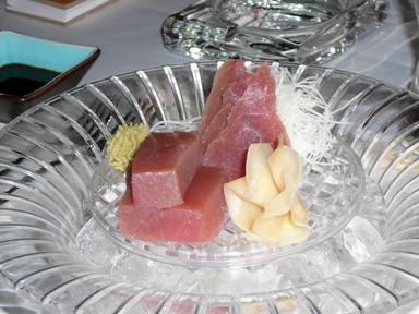 Sashimi tuna fish in Sasa, Sofia