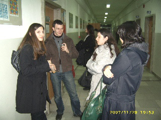 Students in NBU