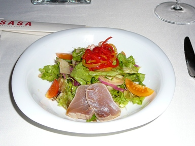 Uafa salad in Sasa sushi