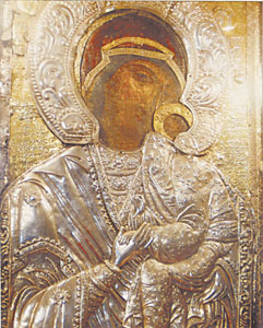 Virgin Mary Eleusa from Bachkovo monastery