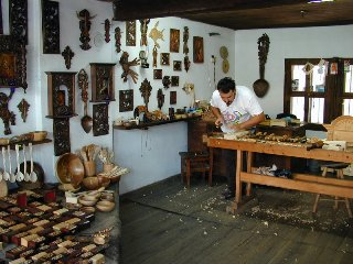 Wood craft, Etara, Bulgaria. Picture taken from http://www.pbase.com/ngruev/etara